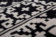 jamil #design by MARTA LAUDANI & MARCO ROMANELLI, NEPAL, 150, 6 mm  WOOL. http://nodusrug.it/it/collezione_tappeti_scheda.php?ID=JAMIL