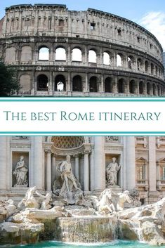 4 Days in Rome itinerary – a detailed travel guide to what to do in Rome in 4 days, the best tours and day trips Italy Travel Tips, Rome Travel, Travel Guide, Rome Catacombs, Best Of Rome, Rome Itinerary, Day Trips From Rome, Visit Italy, Rome Italy