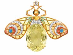 "Masriera ""Morning II"" Pendant Brooch - Hartmann Jewelers"