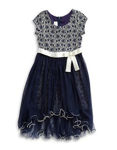 Brands | Dresses | Girls 7-16 Floral Chiffon Dress | Lord and Taylor
