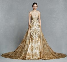 Gold embroidery stra