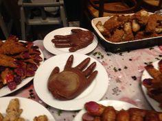 Halloween party food at pendine #pendine2015