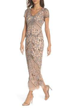 online shopping for Pisarro Nights Beaded Longline Gown (Regular & Petite) from top store. See new offer for Pisarro Nights Beaded Longline Gown (Regular & Petite) Mother Of Bride Outfits, Mother Of Groom Dresses, Mother Of The Bride, Mothers Dresses, Mob Dresses, Wedding Dresses, Bride Dresses, Lace Dresses, Women's Dresses