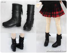 1-4-bjd-msd-black-color-doll-shoes-boots-super-dollfie-luts-DZ-DOD-S-68M