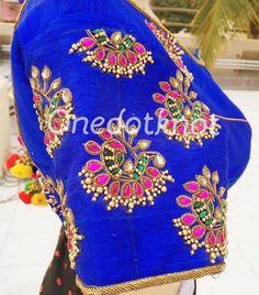 South Indian Blouse Designs, Silk Saree Blouse Designs, Best Blouse Designs, Bridal Blouse Designs, Sari Blouse, Mirror Work Blouse, Blouse Desings, Aari Work Blouse, Designer Blouse Patterns