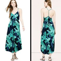 ‼️COMING SOON‼️ANN TAYLOR MAXI DRESS Lovely tropical print maxi dress NWT BY ANN TAYLOR LOFT LOFT Dresses Maxi