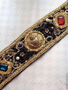 """Пояса,""""Итальянская сказка""""в стиле DG. Handmade."""