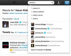 Twitter introduces simple search with autocomplete and related results