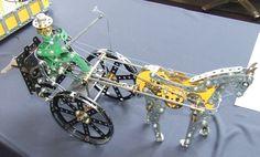 Meccano Horse and Chariot by Andreas Konkoly