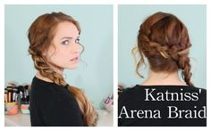 Hunger Games: Katniss' Arena Braid Totally wearing my hair like this to the Catching Fire Premiere!