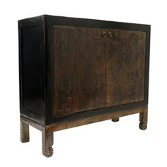 rtemis Gold and Black 2 Door Low Cabinet – FleaPop - Buy and sell home decor, furniture and antiques