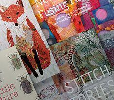 Win a collection of inspirational textile art books
