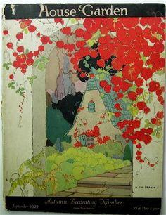 House & Garden magazine September 1922