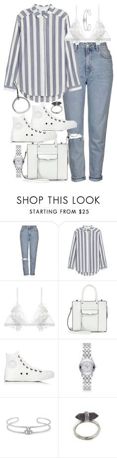 """""""weekend brunch"""" by sophiasstyle ❤ liked on Polyvore featuring Topshop, H&M, For Love & Lemons, Rebecca Minkoff, Converse, Gucci, Gerard Yosca, Karen Kane, Michael Kors and brunch"""