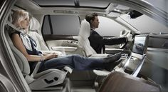 Volvo's Luxury Interior Concept for Chauffeur-Driven Executives