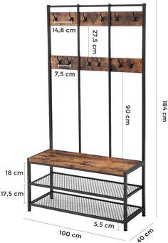 Welded Furniture, Iron Furniture, Steel Furniture, Modern Furniture, Home Furniture, Industrial Style Bedroom, Industrial Design Furniture, Industrial House, Furniture Design