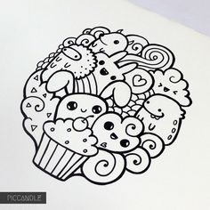Kawaii doodles, kawaii drawings, cute drawings, drawing sketches, drawing i Love Doodles, Easy Doodles Drawings, Easy Doodle Art, Easy Drawings For Kids, Kawaii Doodles, Simple Doodles, Kawaii Drawings, Cute Drawings, Drawing Sketches