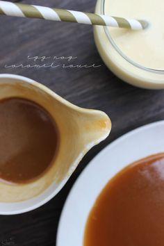 Egg Nog Caramel Sauce