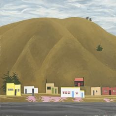 Bill Sutton Untitled Oil on canvas. Collection of Christchurch Art Gallery Te Puna o Waiwhetu, William A Sutton bequest 2000 Public Art, Landscape Paintings, New Zealand, Oil On Canvas, Art Gallery, Flowers, Prints, Taylors, Image