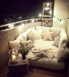 Romantic Small Apartment Balcony (25) - The Urban Interior