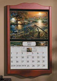 calendar frames terry redlin calendar frame wild wings
