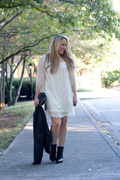 How to wear a white dress after Labor Day