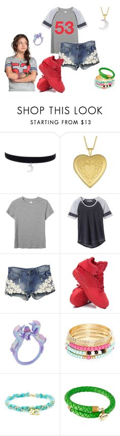 """""""soy luna"""" by maria-look on Polyvore featuring Fremada, Monki, prAna, adidas, Robert Rose and Alex and Ani"""