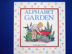 Alphabet Garden a Vintage Children's ABC by lizandjaybooksnmore
