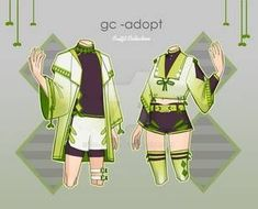 Outfit Adoptables # by gc-adopt on DeviantArt So Creative, Adoption, Deviantart, Female, Artist, Outfits, Outfit, Artists, Clothes