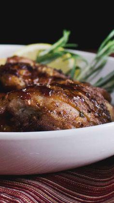 Sangria Chicken ~ Hungry AF | Tastemade