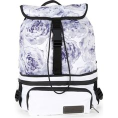 ADIDAS BY STELLA MCCARTNEY Run convertible backpack ($110) ❤ liked on Polyvore featuring bags, backpacks, adidas, zip bag, convertible bag, adidas backpack and adidas bag