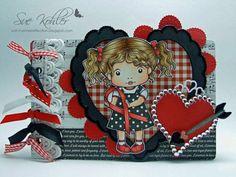 AWARENESS-RIBBON-MARCI-La-La-Land-Crafts-Cling-Mount-Rubber-Stamp-Stamping-Craft