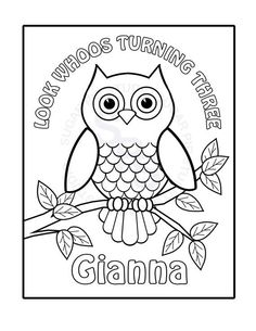 Owl Coloring Pages For Kids 5228