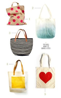 Such cute totes, makes me wanna hit the markets / VINTAGE STYLE / 01