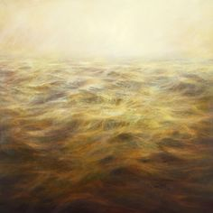 Title: Amber Sea Artist: Mary Beth Thielhelm (1965, American) Year: 2009  Materials/Techniques: oil on panel Price contact gallery Measurements Height: 15 in. Width/length: 15 in. Location Sears-Peyton Gallery 210 11th Avenue Suite 802 New York, NY 10001 USA