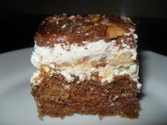 Otthoni sütés-főzés: Túróguru torta Tiramisu, Ethnic Recipes, Cukor, Food, Caramel, Meals, Yemek, Eten, Tiramisu Cake