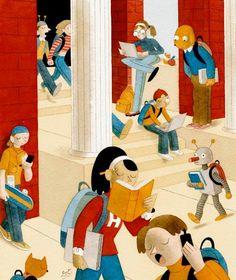 ★Bibliopeque itinerante: Cuentos cortos para Educación Primaria (El valor de un cuento)