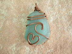 Love this artists sea glass jewelry!