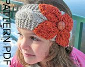 Headband Knitting  PATTERN Instant Download Pattern Digital  Toddler   Child   Adult  Sizes    3 Sizes  PDF  Cable Knit   headband