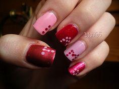 Valentine's Day nail art- Ti Amo <3 check out www.MyNailPolishObsession.com for more nail art ideas.