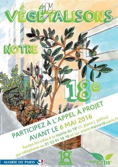Végétalisons notre 18e #Paris #ParisFoodAndWine