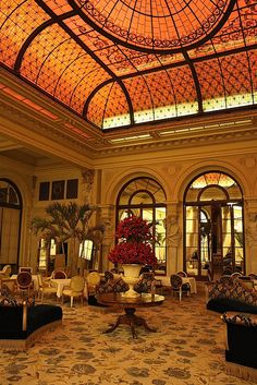 The Plaza Hotel Palm Court... so many memories. I had the best afternoon tea here with a friend many years ago.
