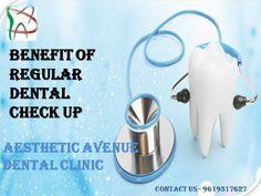 Benefits of Regular Dental Checkup @ Aesthetic Avenue Dental Clinic Nerul (East) Navi Mumbai Dental Check Up, Navi Mumbai, Best Dentist, Glass Of Milk, Clinic, Benefit