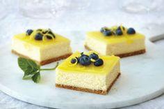 Double-Lemon Cheesecake Bars