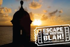 As if meeting on a tropical island in the Caribbean weren't incentive enough. Escape the Meeting Blah with our special offer! Contact us before May 30, 2014 to receive some perks with our promotion at select participating hotels in Puerto Rico. Call us at 1.800.875.4765 or click for details.