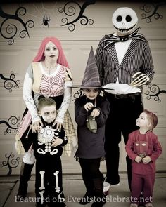 halloween group couples costumes - Nightmare Before Christmas Halloween Costume