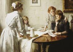 The Letter (Thomas Benjamin Kennington - )