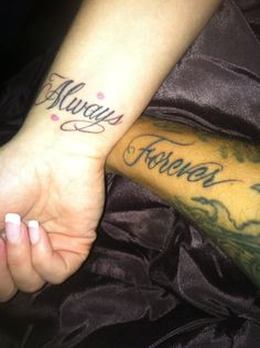 Our couple tattoo ❤️