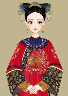 Fantasy Art Women, Blythe Dolls, Doodle Art, Female Art, New Art, White Dress, Sketch, Chinese, Game