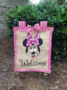 A personal favorite from my Etsy shop https://www.etsy.com/listing/292079783/mickey-mouse-garden-flag